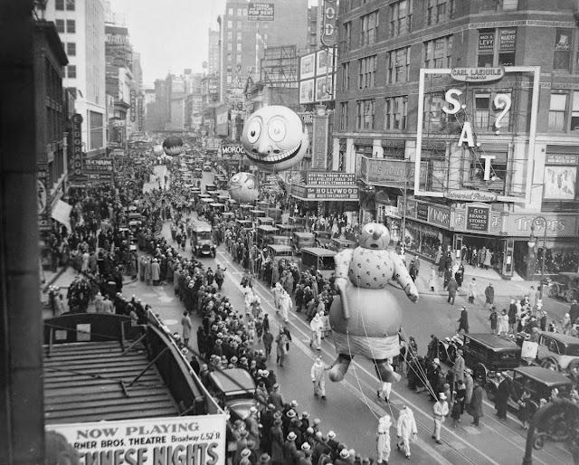 Día de acción de Gracias en 1930