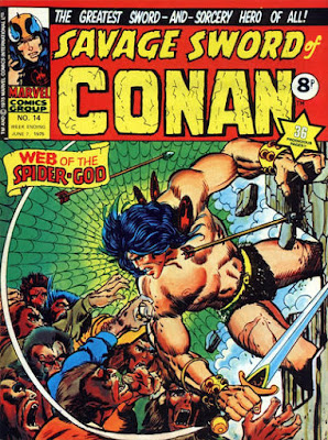 Marvel UK, Savage Sword of Conan #14, Web of the Spider-God