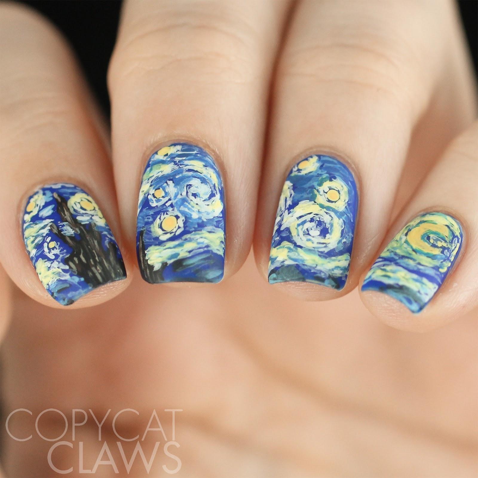 Copycat Claws The Digit Al Dozen Redoes Art The Starry Night