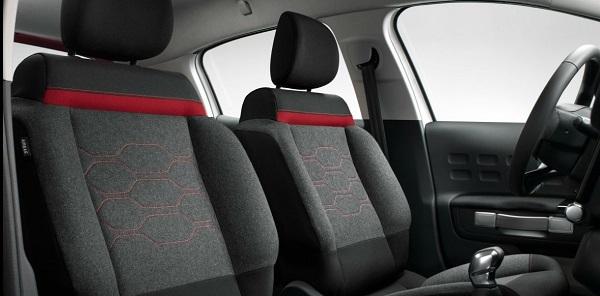 interior Citroën C3 2017