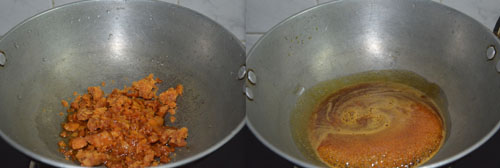 boiling jaggery