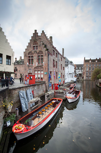 Canale nel Markt-Bruges