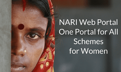 NARI Web Portal- One Portal for All Schemes for Women