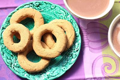 biscuits pour tremper dans le chocolat chaud
