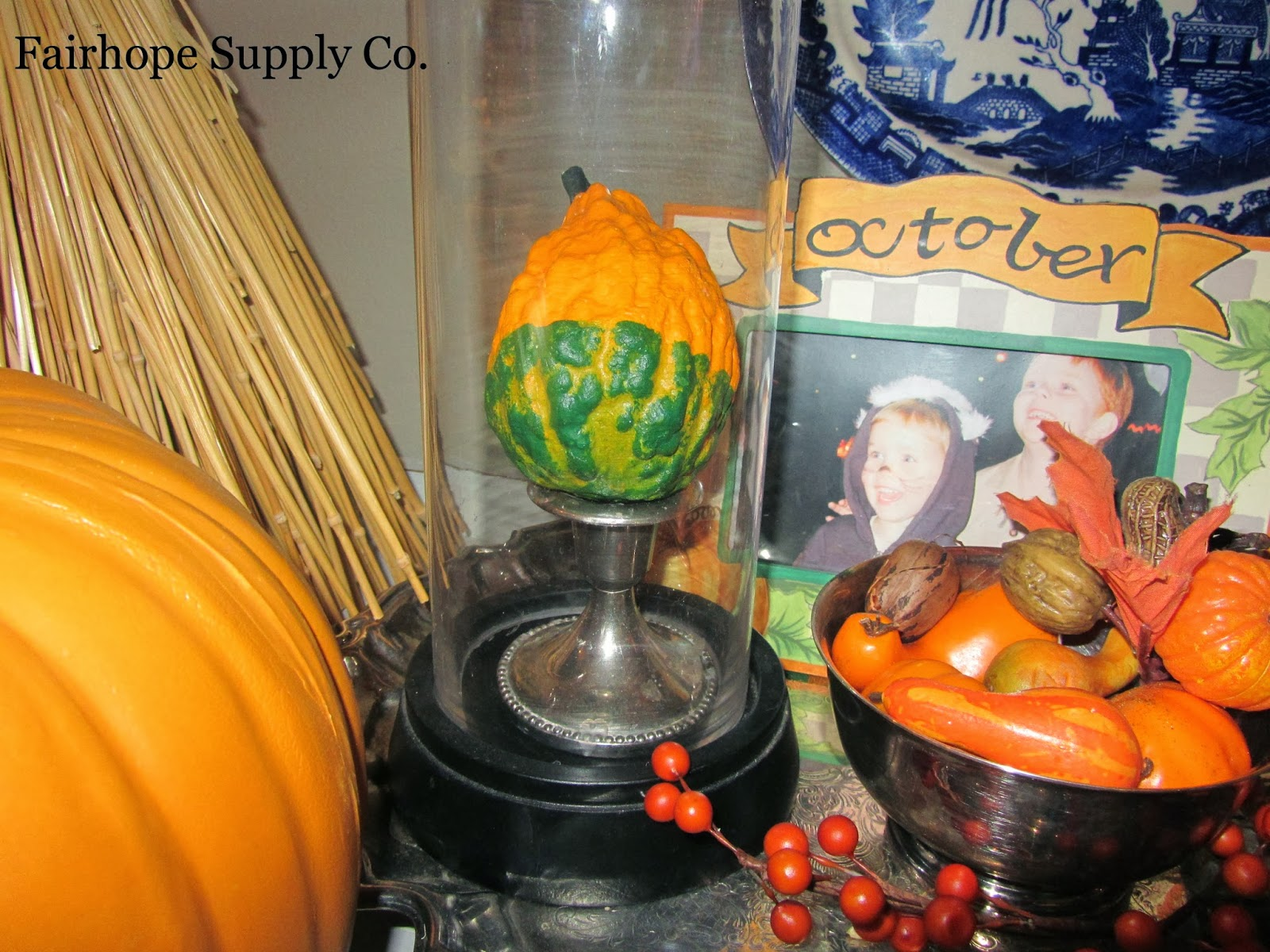 Plastic Pumpkins Article Autumn Traditions Southern Humor