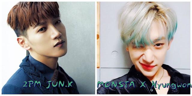Aynı gün doğan idoller junk hyungwon