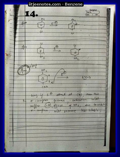 Benzene Notes-CHEMISTRY4