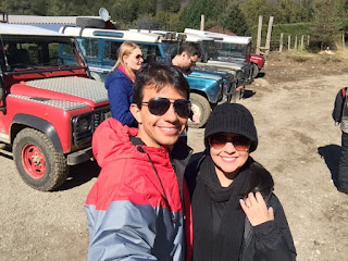 Jeep 4x4 do passeio Roca Negra em Bariloche