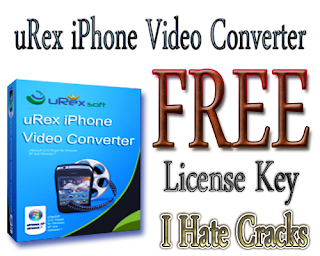 uRex iPhone Video Converter Free Download With Legal License Key