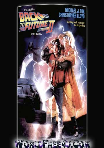 Poster Of Back to the Future 2 1989 In Hindi Bluray 720P Free Download