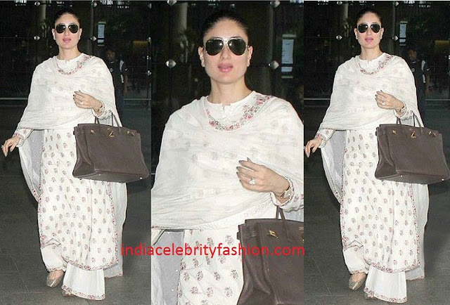 Kareena Kapoor Spotted with Baby Bump
