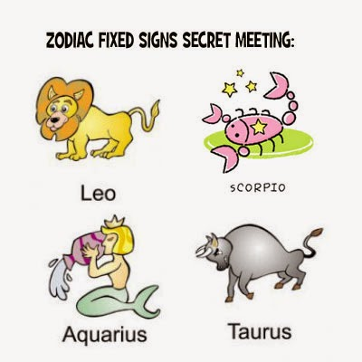 Meeting between the Fixed Signs of the Zodiac: | Scorpio Quotes