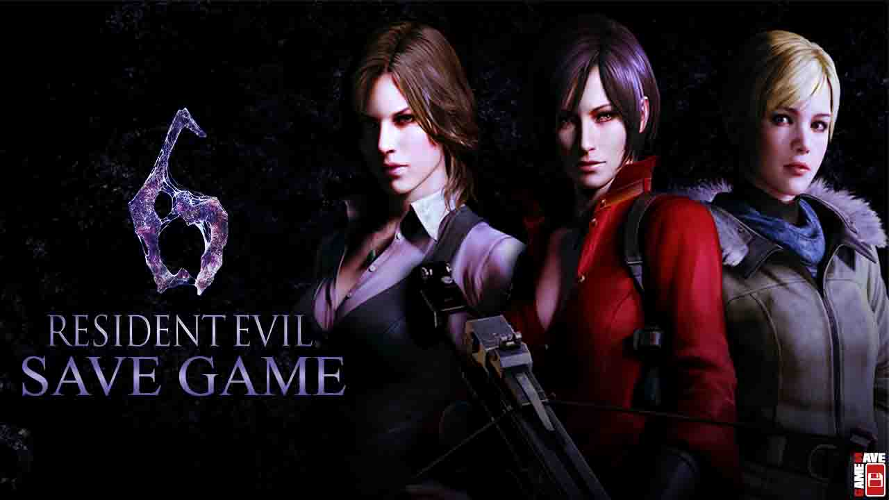 Your Save Games: [PC] Resident Evil 6 (100% Save Game)