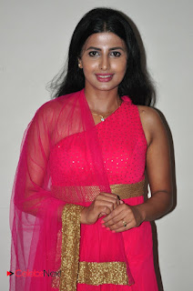 Actress Raj Shri Poonnappa Stills in Pink Dress at Mental Police Trailer Launch BollywoodGossip 0014.JPG