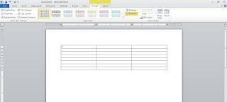 Cara Membuat Tabel Di Postingan WordPress