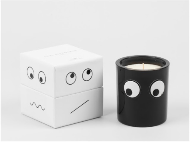 Lyn Harris' and Anya Hindmarch's scented candles
