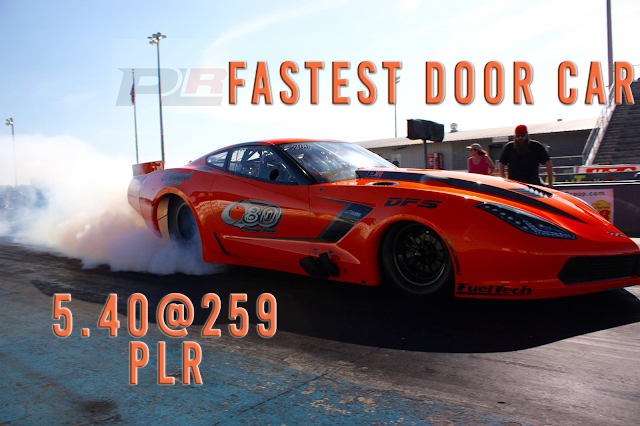 5.40@259 in a Hemi Pro Boost Corvette
