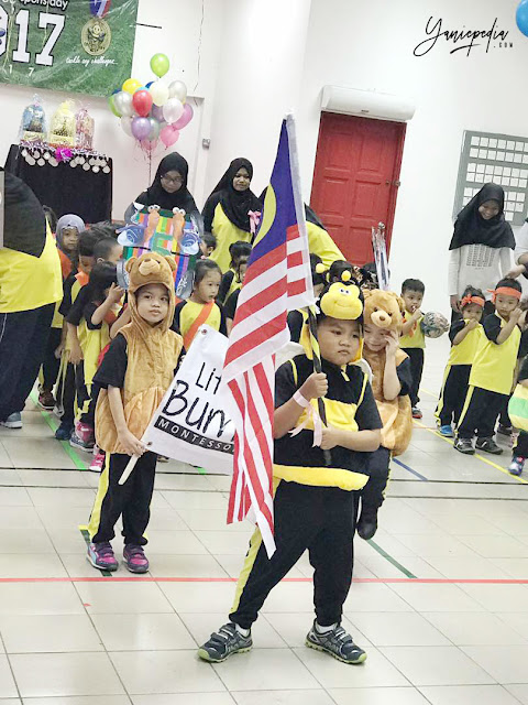 little bumblebee montessori preschool sports day