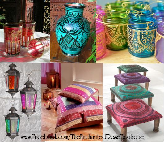 Moroccan Decorations For Home: The Enchanted Rose Boutique : Moroccan Décor