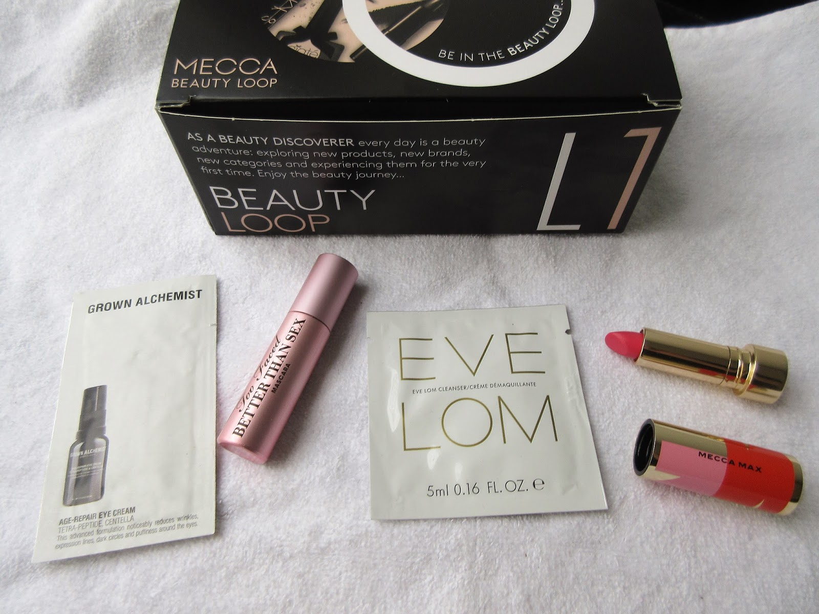 Autumn 2018 Mecca Beauty Loop Box