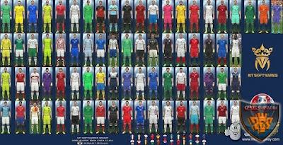 PES 2016 Euro 2016 Kit Pack v.6 by MT Games Источник: http://pes-files.ru/