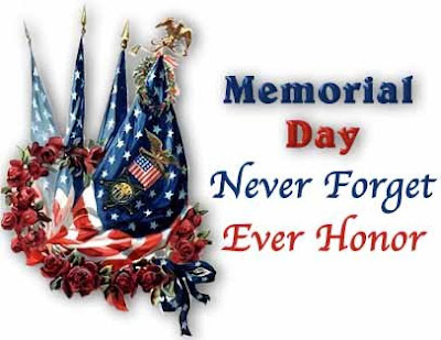 Memorial Day is to honor those serving and remembering those who have.