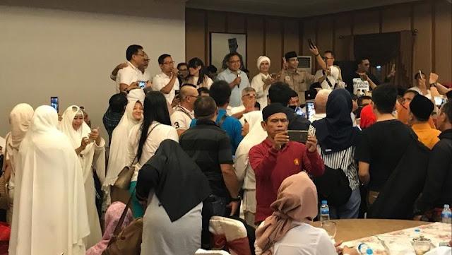 Relawan Pena'45 Deklarasi Dukung Prabowo-Sandi di Rumah Djoko Santoso