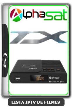 Alphasat TX Nova Atualização Melhorias no Serviço de IKS e EPG do IPTV V12.06.18.S75 - 19-06-2020