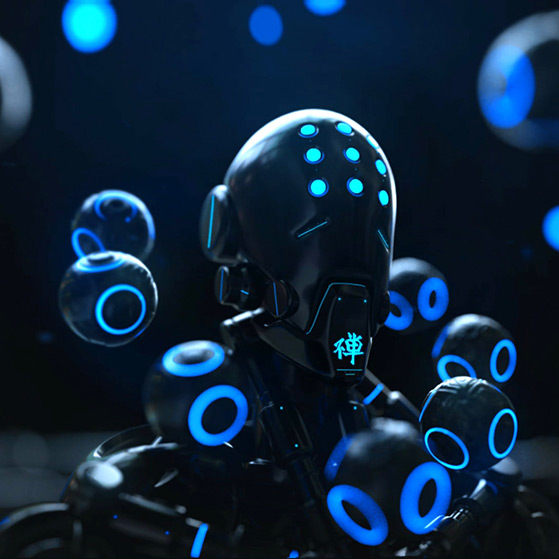 Zenyatta Overwatch Wallpaper Engine