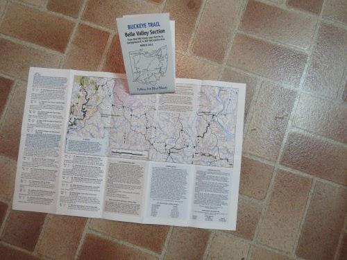 Buckeye Trail maps