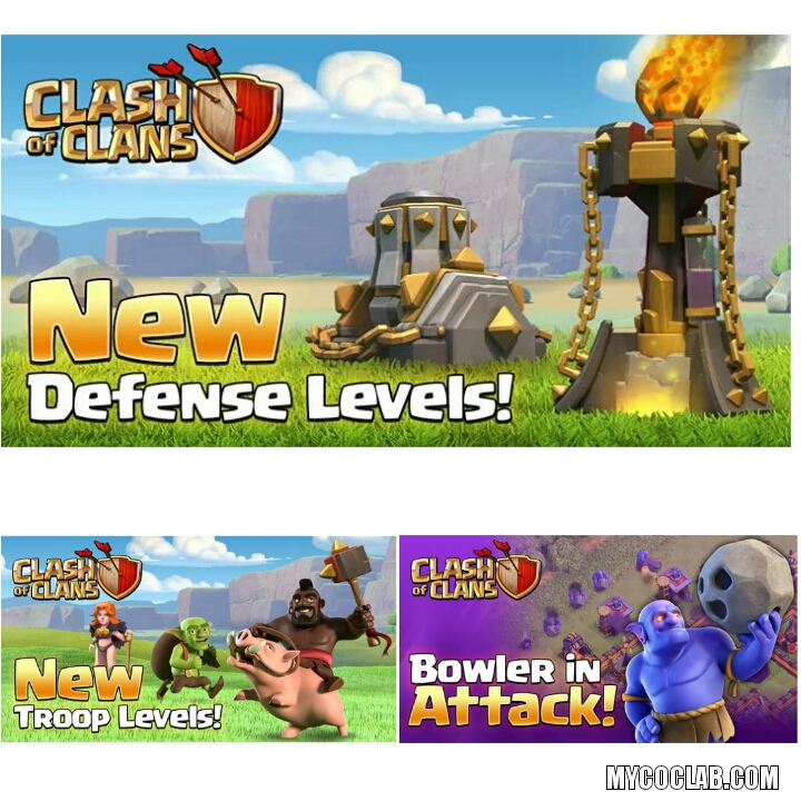 Clash of Clans (March) Download and Update Relased!