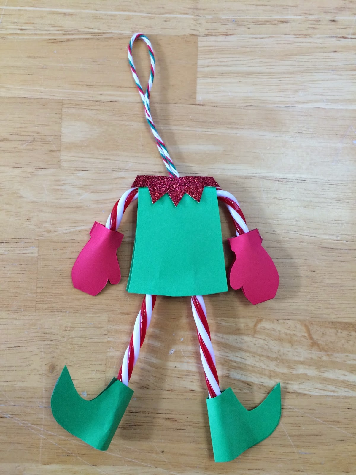 Kathy S Art Project Ideas Candy Cane Elf Christmas