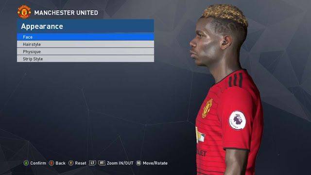 Paul Pogba New Face PES 2017