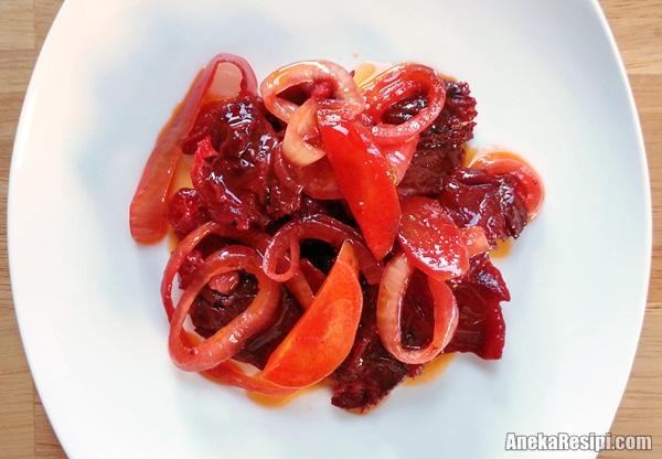 daging masak merah sedap