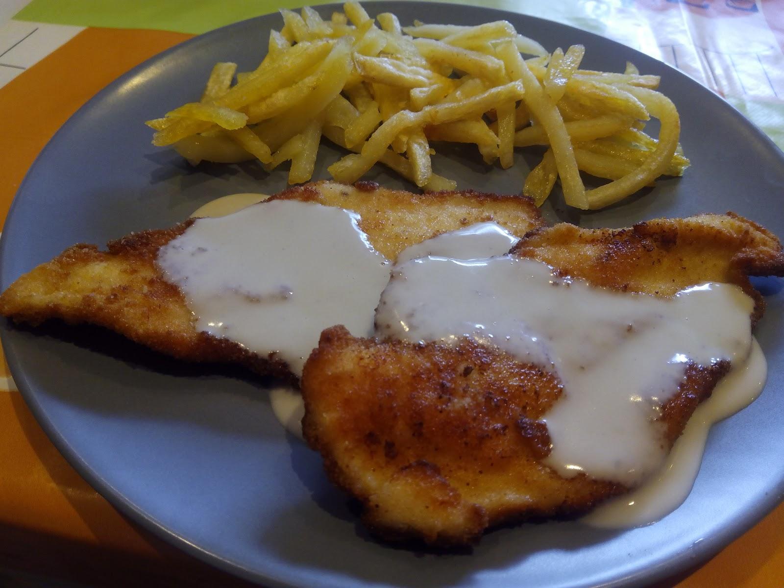 Cocina con rachel escalopes de pollo al cabrales - Racholas cocina ...