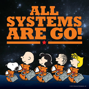 Peanuts new promotion with NASA