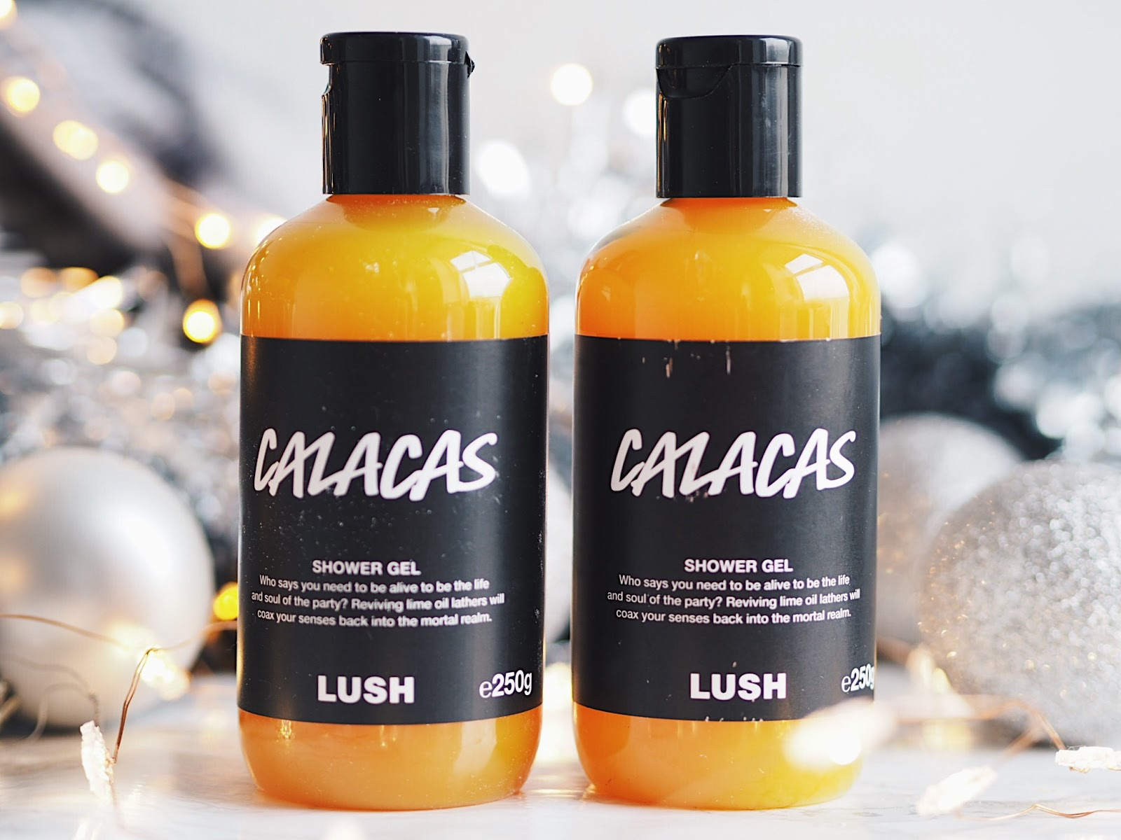 lush christmas 2017 calacas shower gel