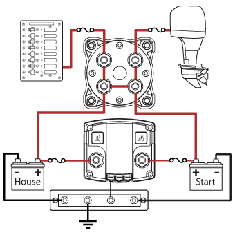 Perko Single Battery Switch Wiring Diagram 2008 Yamaha R6 Ignition Red Crow Gear: Dual System In A 1998 Subaru Legacy Outback