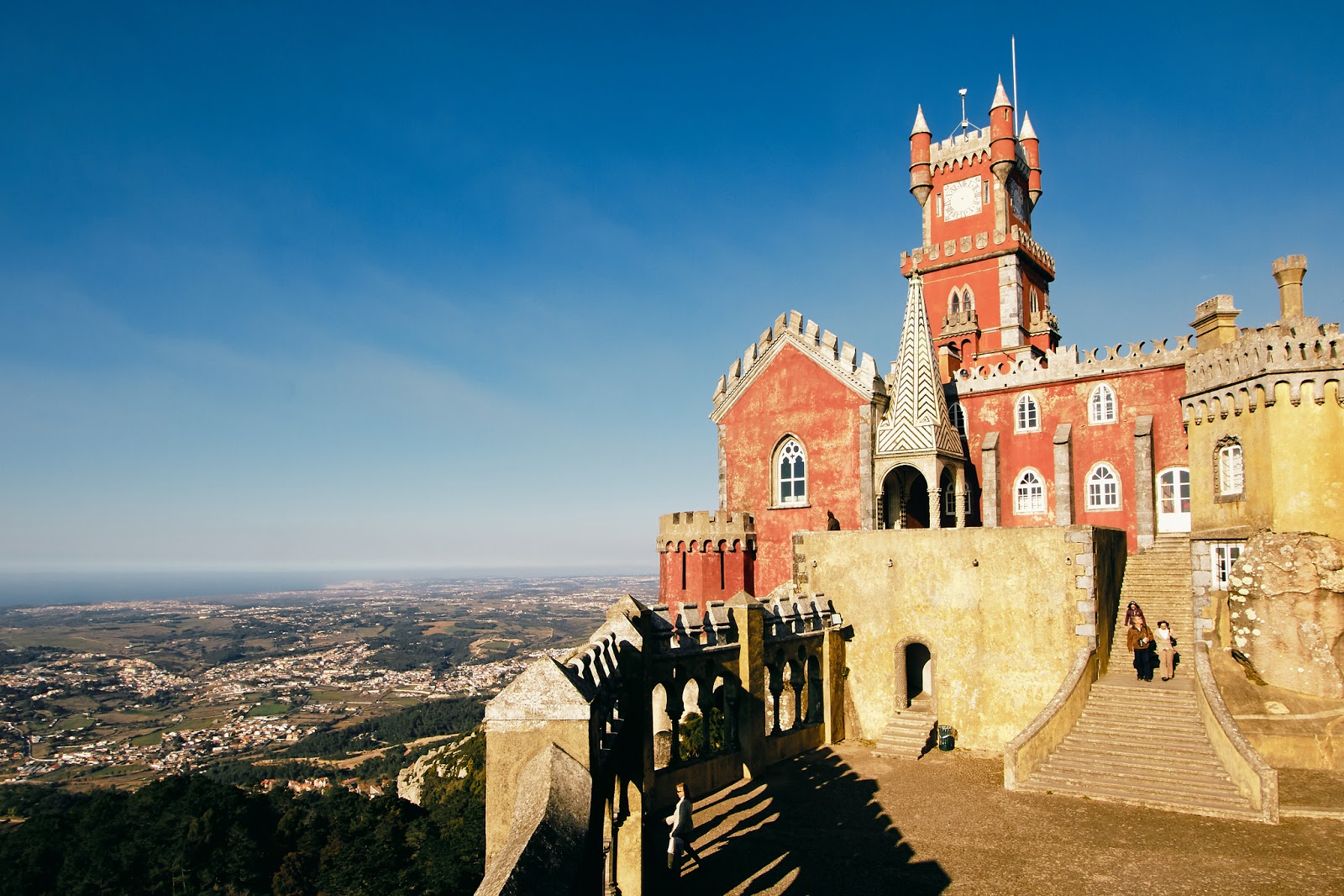 Sintra castle by Pedro Szekely