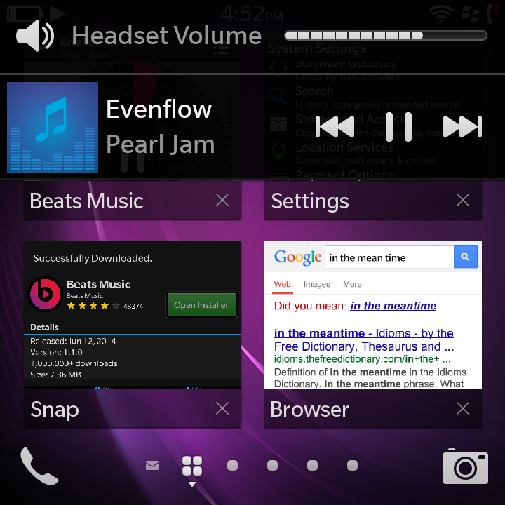 Beats Music app works BlackBerry Q10