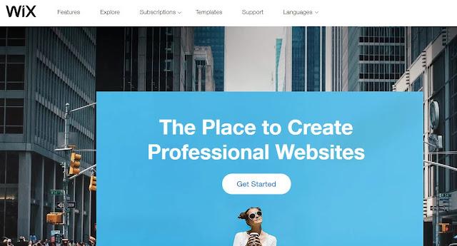 wix website best hosting site top web page builder