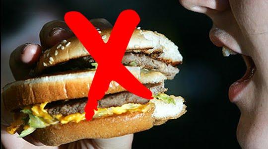 cómo perder peso comiendo comida chatarra