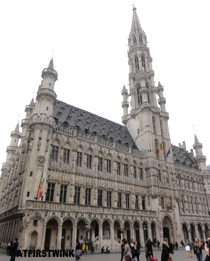 Stadhuis van Brussel (Town Hall of Brussels) building