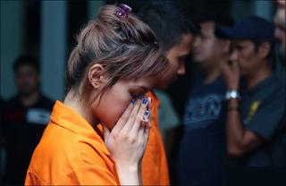 Savitri Trijaya ditangkap karena menggunakan narkotik