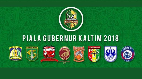 Jadwal TV Siaran Langsung Piala Gubernur Kaltim 2018