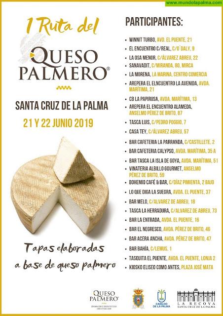 El Ayuntamiento de Santa Cruz de La Palma organiza la I Ruta del Queso Palmero