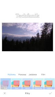 Xiaomi filtry na zdjęcia