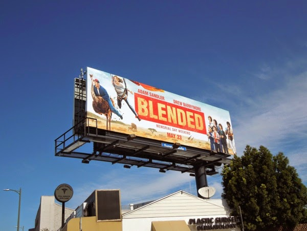 Blended ostrich billboard