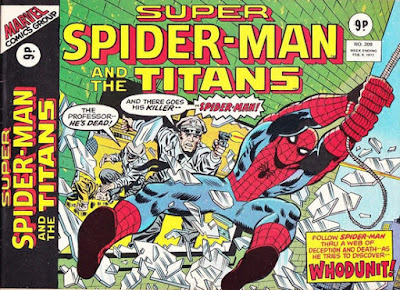 Super Spider-Man and the Titans #209, Whodunit?