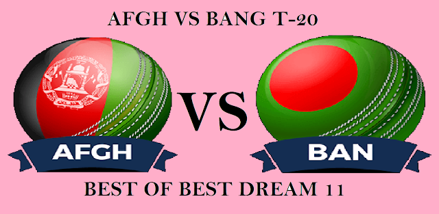 AFGH VS BAN DREAM11 TEAM